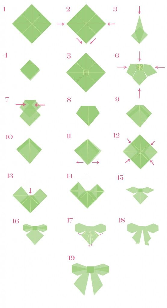 origami bow and arrow instructions