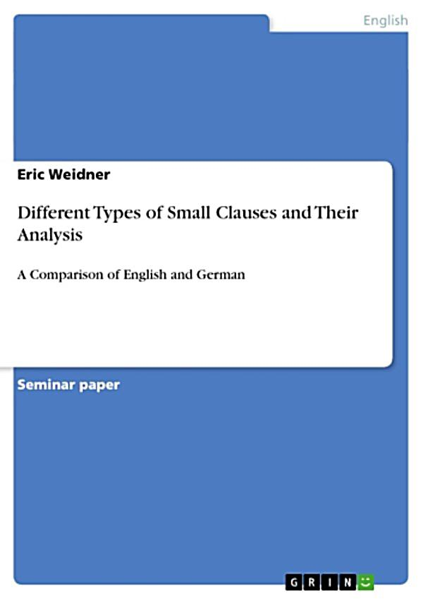 Different types of clauses pdf