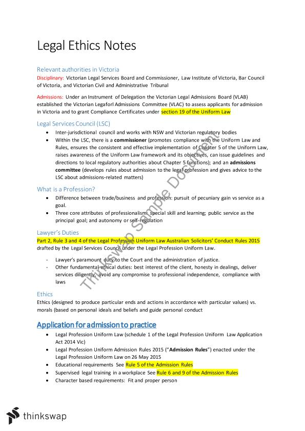 Business law and ethics notes pdf