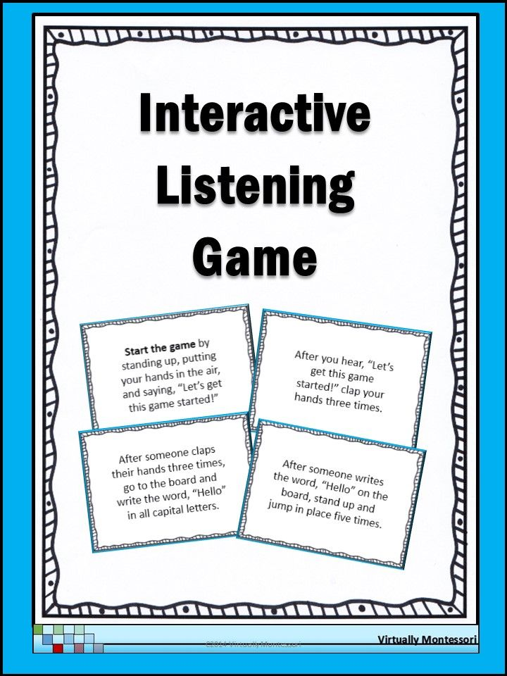 Active listening skills exercises pdf