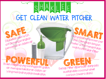 shaklee get clean water filter instructions
