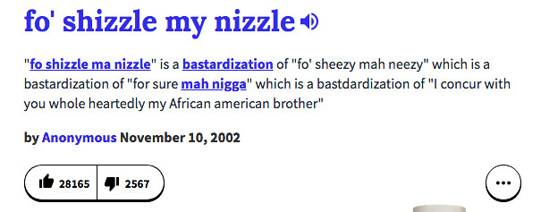 Thanks for nothing urban dictionary