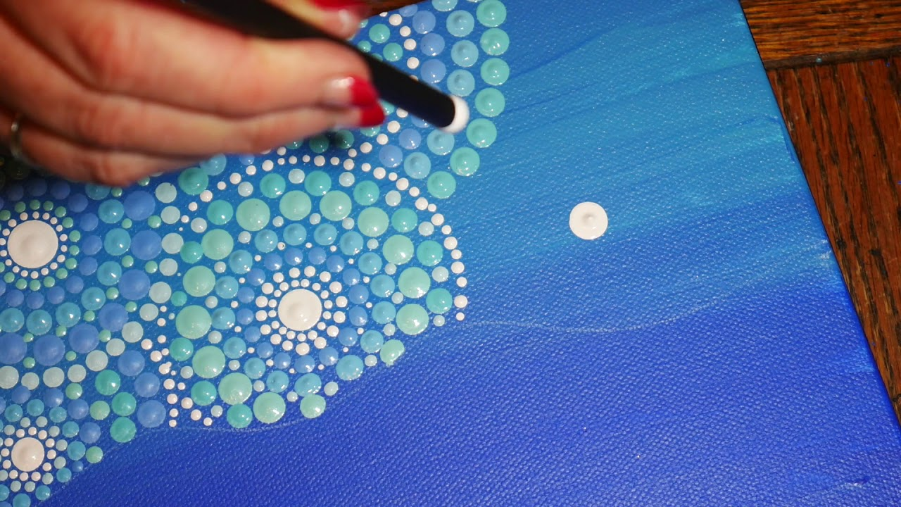 dot by dot painting instructions