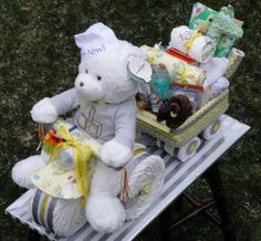 tricycle diaper cake instructions video